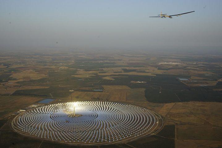 Solarkraftwerk bei Sevilla