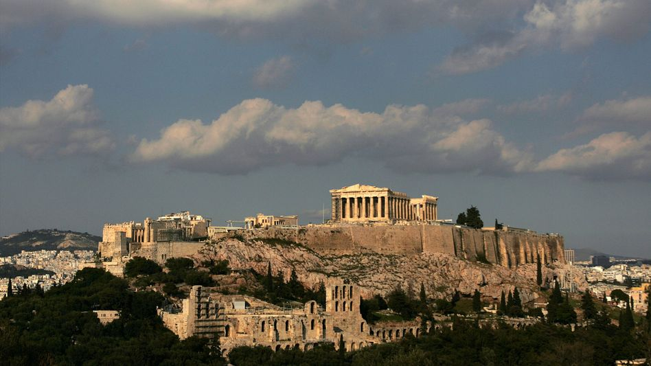 """The Acropolis in Athens: """"We need to accept the fact that Greece and Ireland are bankrupt."""""""