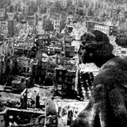 The city of Dresden was destroyed following a vicious Allied bombing raid at the end of World War II.