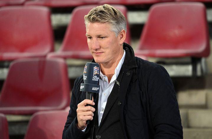 Fußballfernsehexperte der ARD Bastian Schweinsteiger