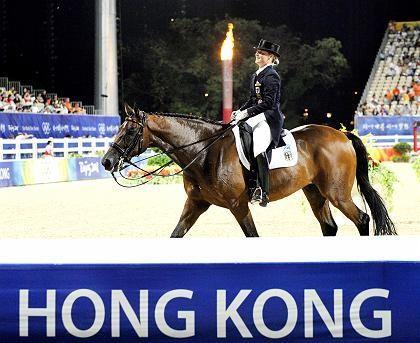 Highlight für den Hong Kong Jockey Club: Olympische Reitwettbewerbe