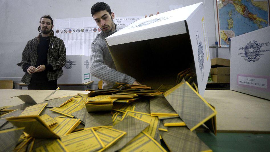 Wahlhelfer in Rom: Kompliziertes System