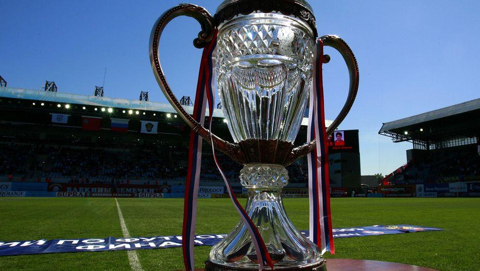 Russischer Meisterpokal in der Chimki Arena: Fußball als Randsportart