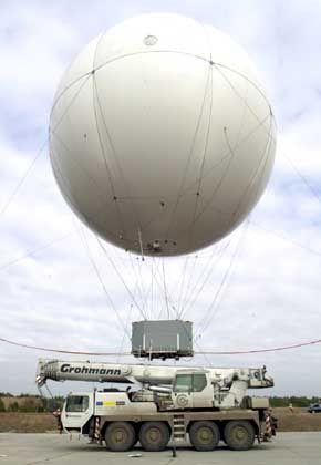 CargoLifter- Transportballon AirCrane: Im Prinzip keine Einnahmen, aber seit Jahren hohe Verluste