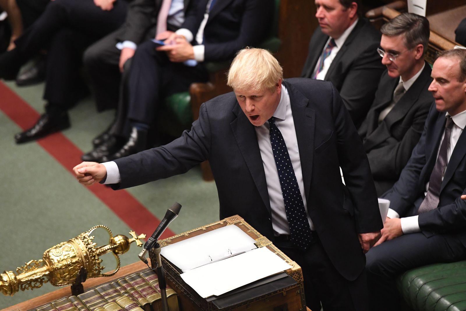 Boris Johnson Unterhaus