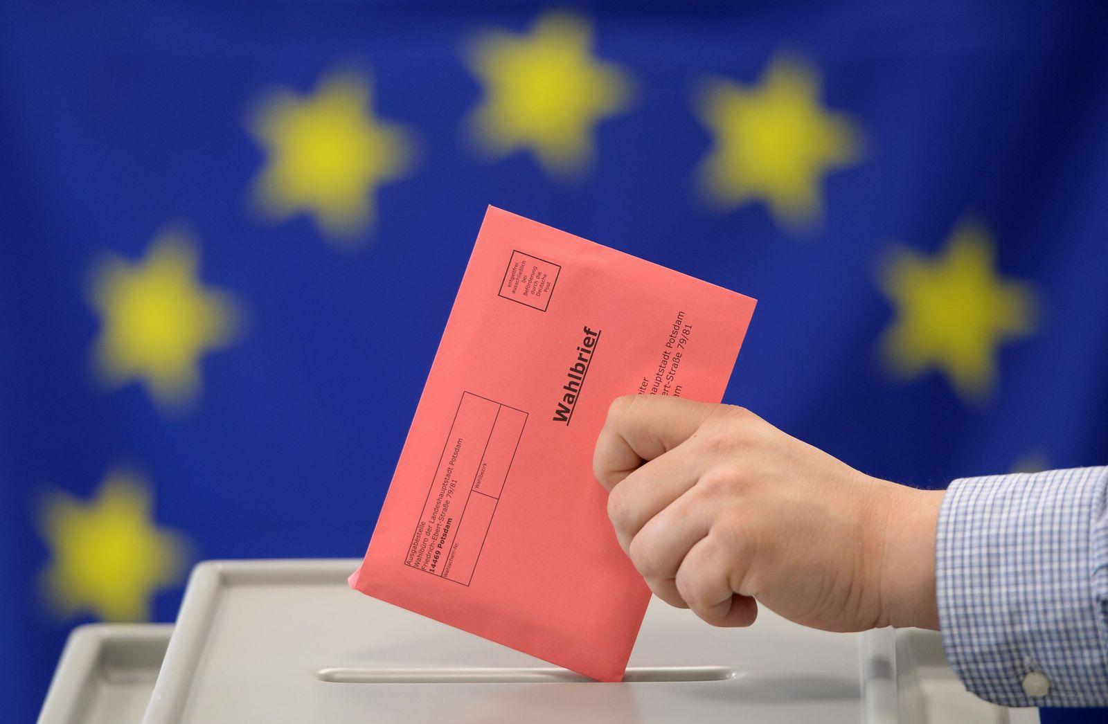 Europa-Wahl/ Wahlbrief