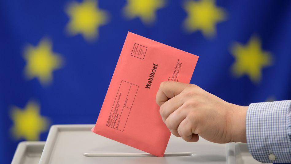 Unterlagen zur Europawahl