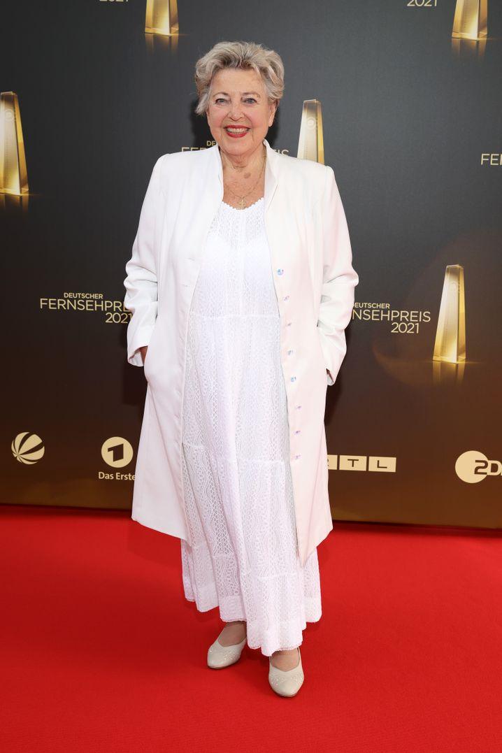 Marie-Luise Marjan bei der Verleihung des Deutschen Fernsehpreises