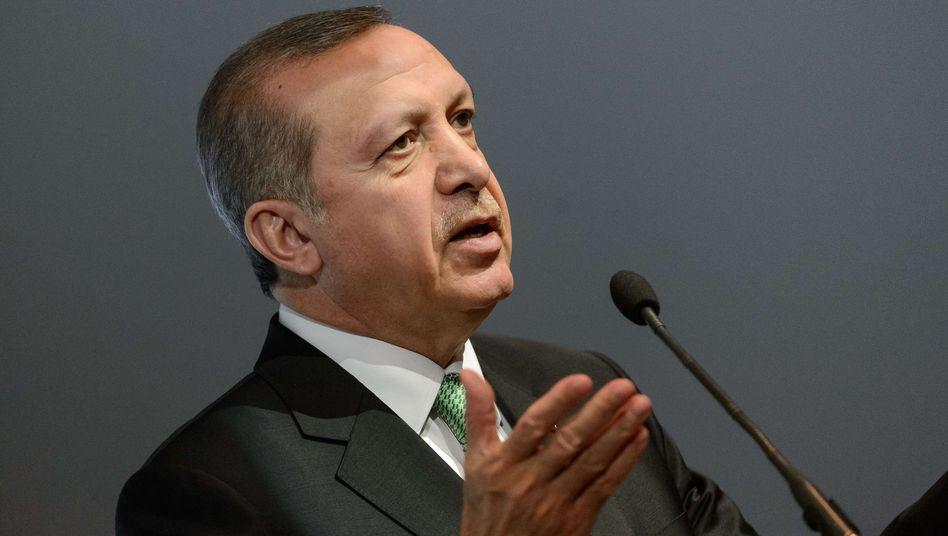 """Präsident Erdogan: """"Der geehrte Papst wird diese Art von Fehler höchstwahrscheinlich nicht wieder begehen"""""""