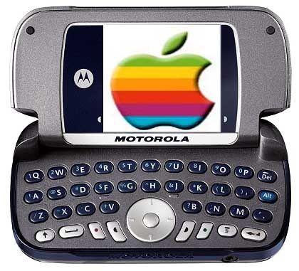 Noch Zukunftsmusik: Ab Frühjahr 2005 soll die nächste Motorola-Generation Handys mit iTunes-Dateien verschalten