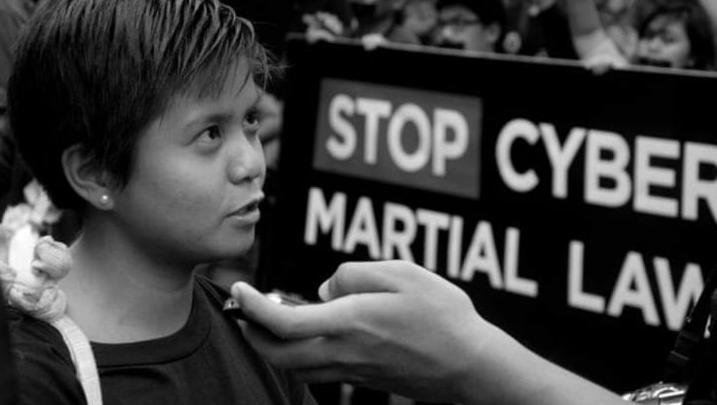 Die philippinische Klimaaktivistin Renee Karunungan wurde vor einigen Jahren nach einem kritischen Bericht über Präsident Duterte mit dem Tod bedroht – und musste ihre Heimat verlassen