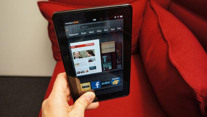 Kindle Fire: Amazons glänzender Tablet-PC