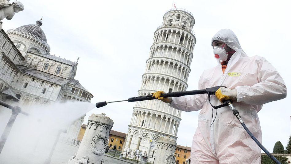 """Corona-Bekämpfung in Pisa: """"Leider ein Modell für andere Länder"""""""