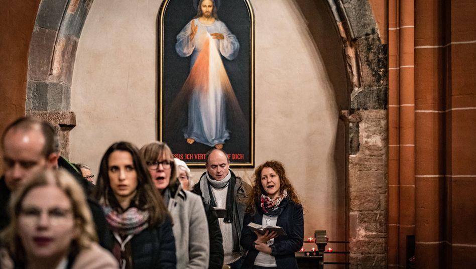 """Gottesdienst zum Auftakt der Synodalversammlung: """"Nicht mehr so viel Zeit"""""""