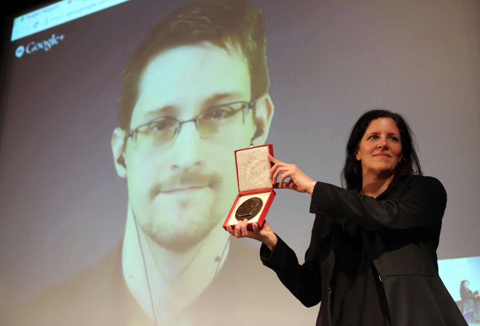 Snowden Poitras Ossietzky
