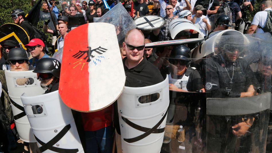Demonstranten in Charlottesville