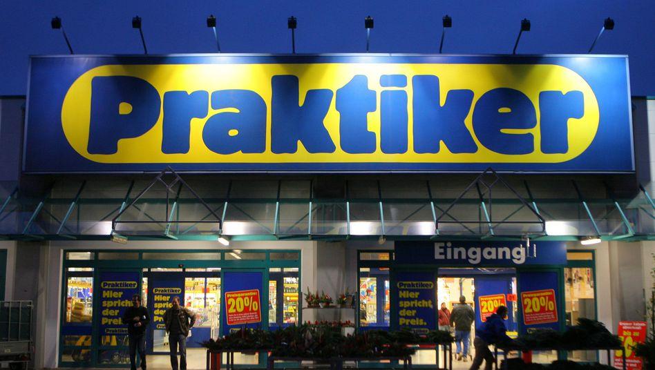Praktiker-Markt bei Rostock: Überschuldet und zahlungsunfähig