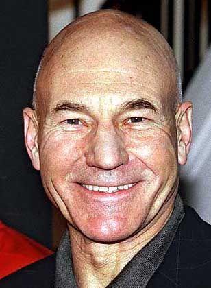 Patrick Stewart alias Captain Picard: Glatze als Markenzeichen