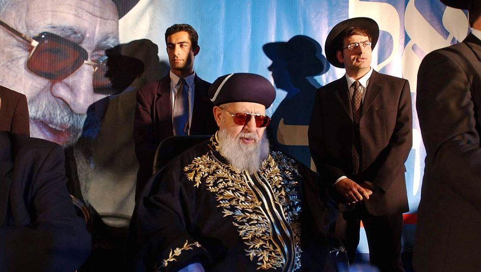 Rabbi Ovadia Jossef: Für drastische Worte bekannt