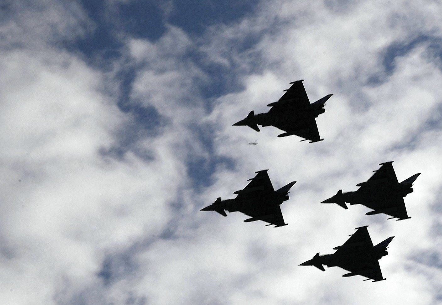 """Kampfflugzeug """"Eurofighter"""""""