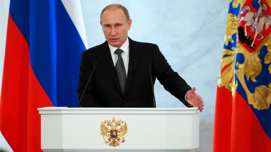 Russischer Präsident Putin: Wichtige Ansprache in kritischer Lage