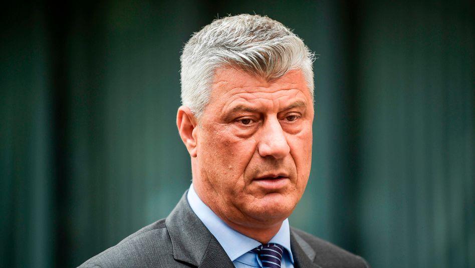 Kosovos Präsident: Hashim Thaçi