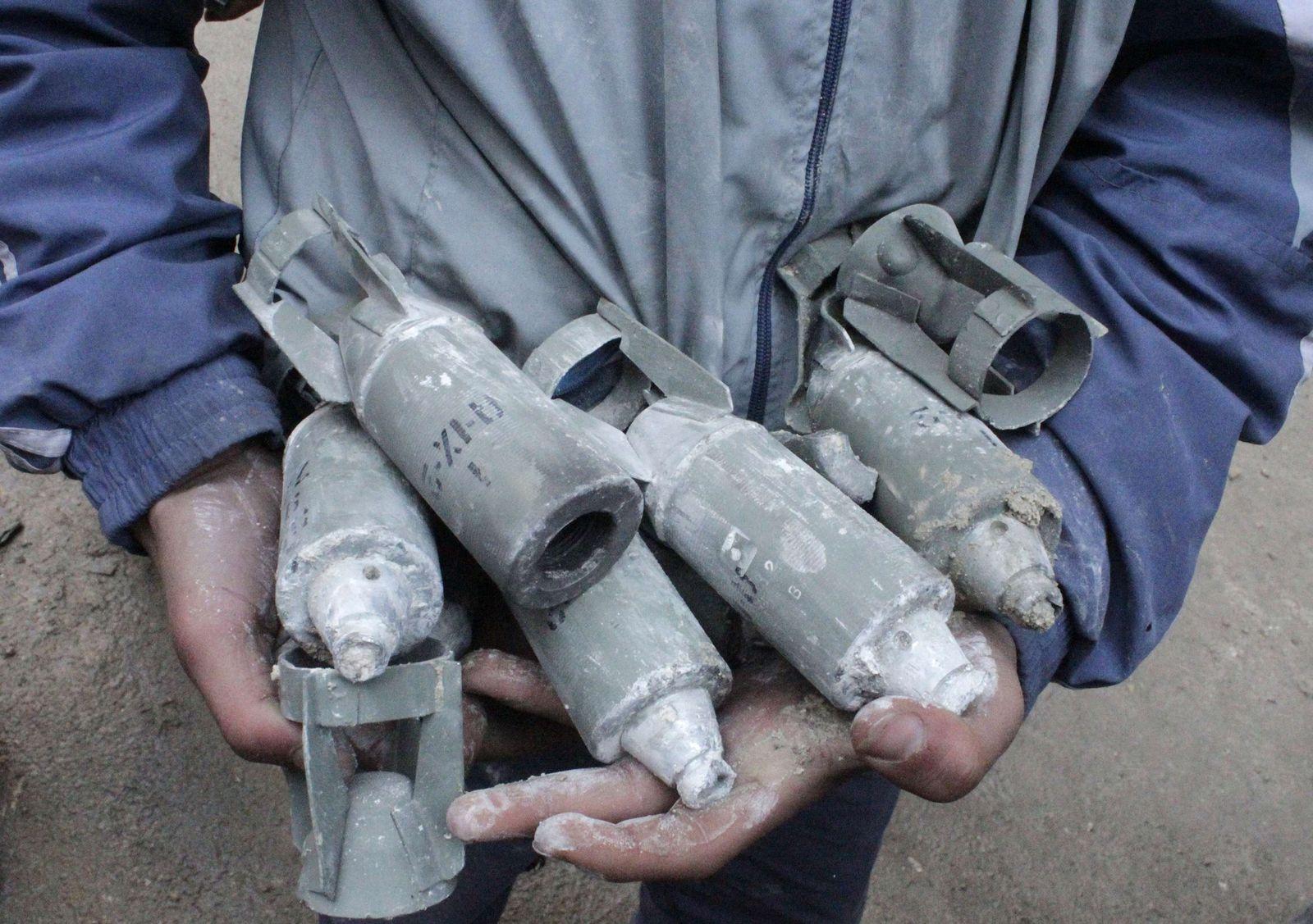syrien streubomben