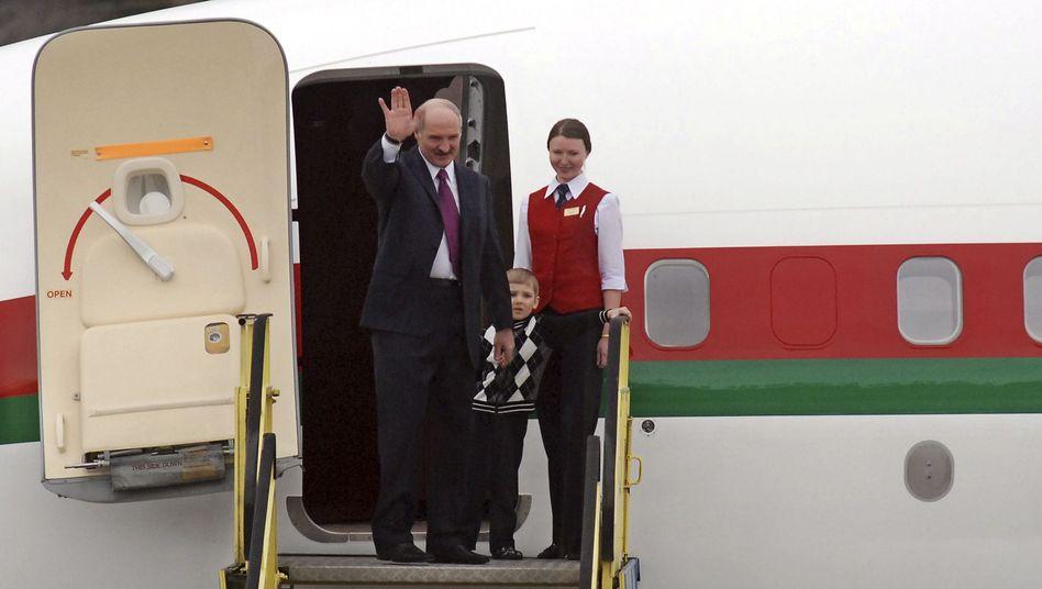 Alexander Lukaschenko: Die Wartung der Maschinen hat Lufthansa übernommen