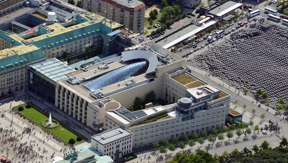 The United States Embassy in Berlin: The expulsion of the CIA's head in Germany last week marks a significant escalation in the scandal surrounding American spy operations in the country.
