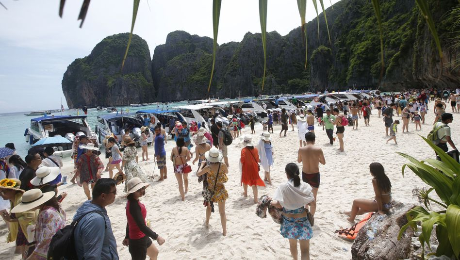 Touristen in Thailand: Das EU-Parlament will Kunden von Tourismusfirmen besser schützen