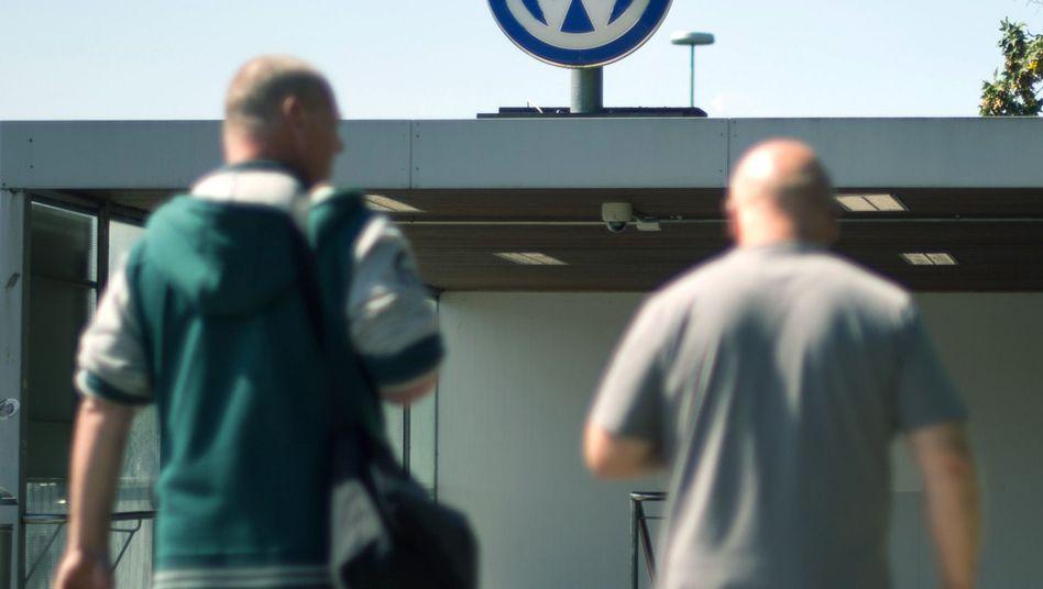 Wolfsburger VW-Werk