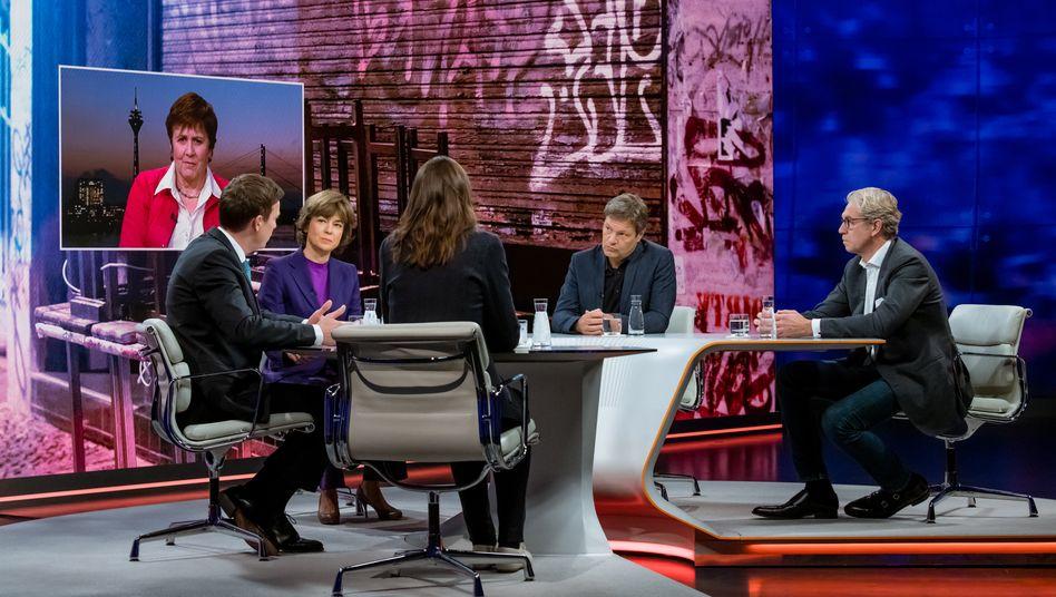 Corona-Talk bei Maybrit Illner: Wie weit fährt Deutschland runter?