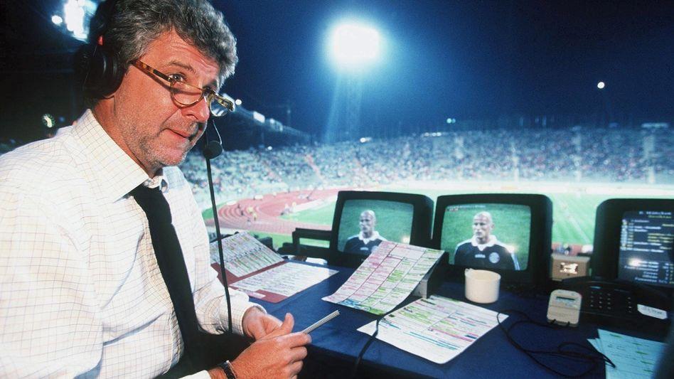 Marcel Reif: Lange Zeit die Stimme der Champions League
