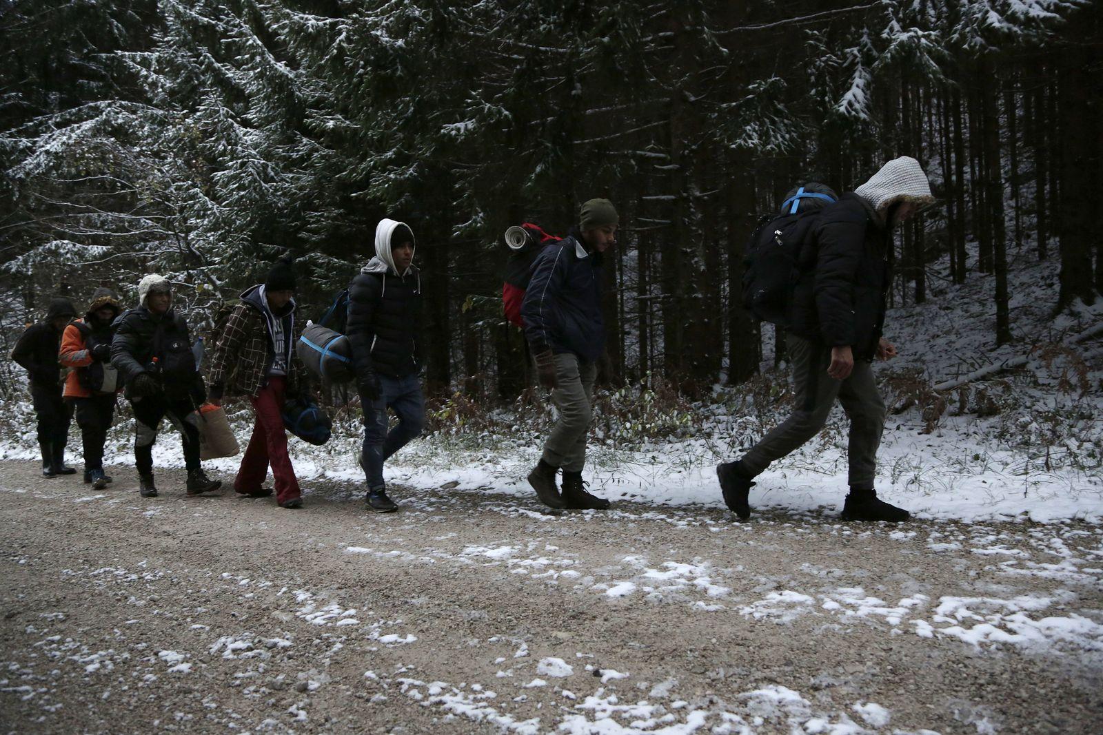 Bosnia Migrants