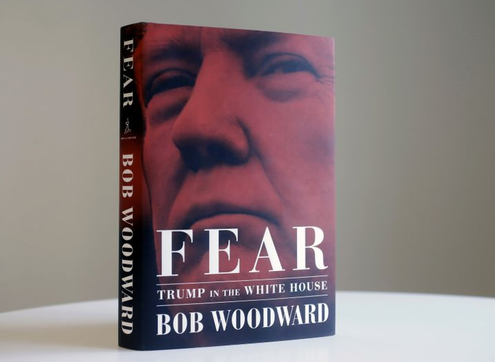 """Buchcover: """"Fear - Trump in the White House"""""""