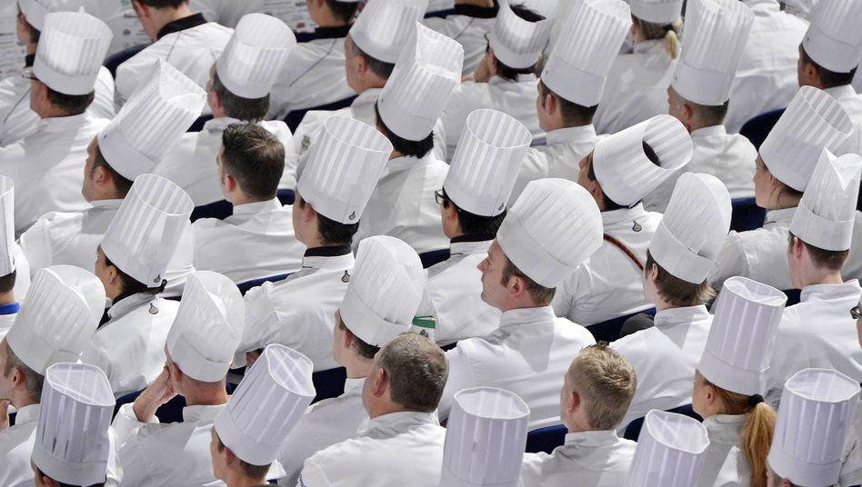 Köche bei Küchenolympiade (Archiv): Wo 70-Stunden-Wochen normal sind