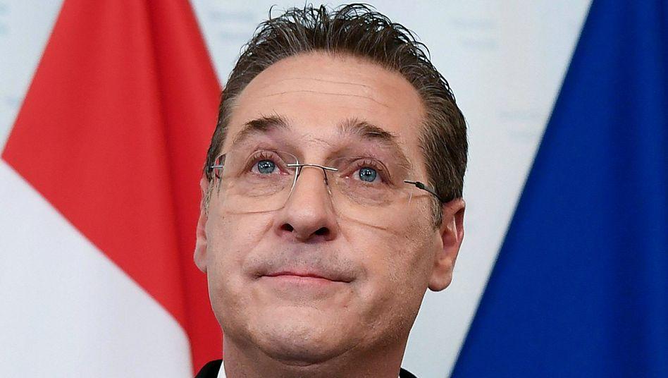 Österreichs Ex-Vizekanzler Heinz-Christian Strache