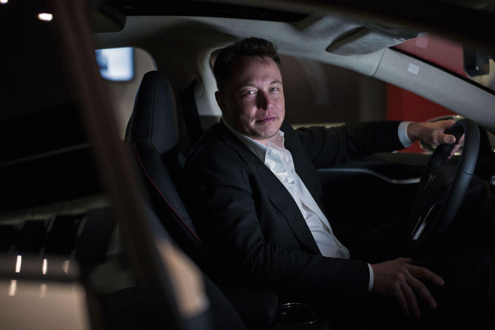 EINMALIGE VERWENDUNG SPIEGEL Plus SPIEGEL 28/2016 S.70 Tesla / Elon Musk