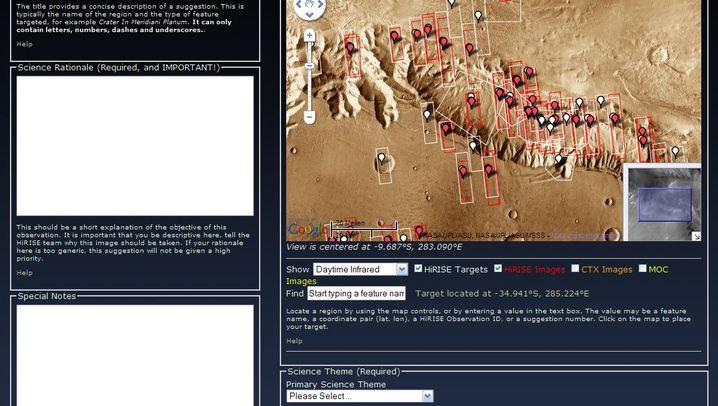 Raumsonde MRO: Atemberaubende Fotos vom Mars
