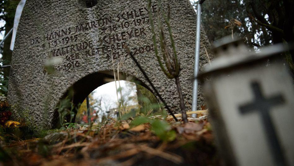 Grabstätte des ermordeten Arbeitgeberpräsidenten Hanns Martin Schleyer