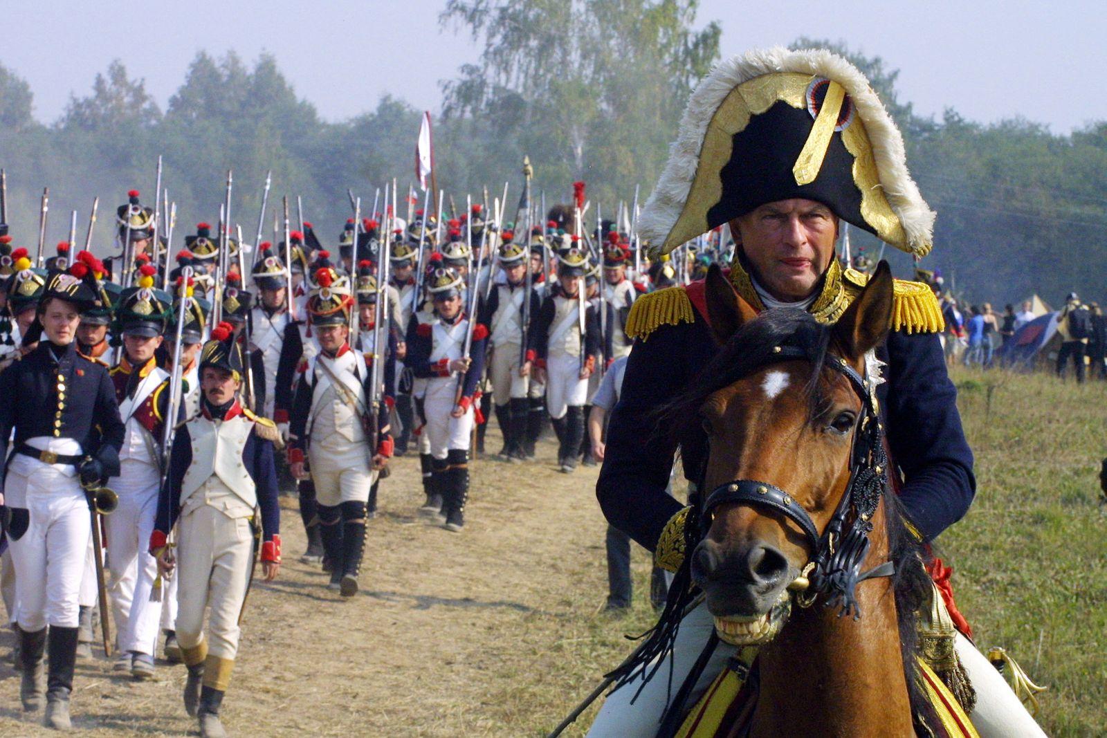Russian Battle Reenactment