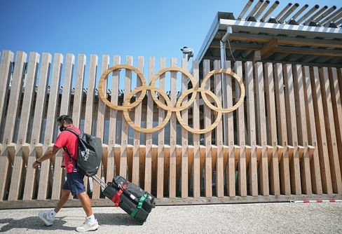 Das olympische Dorf in Tokio: Stabile Betten aus Pappe