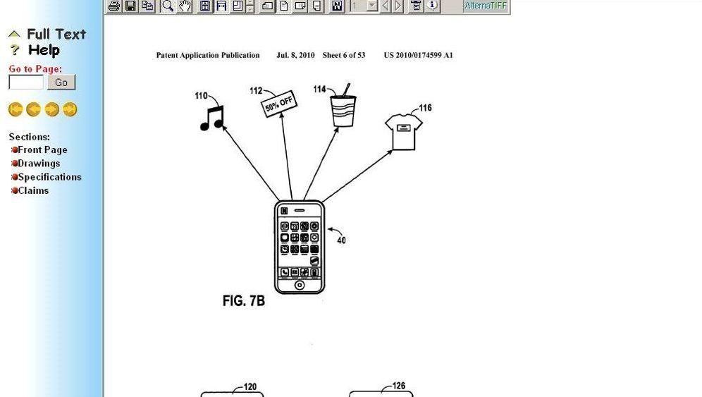 Apple-Patentantrag: Das iPhone, ein Shopping- und Werbewerkzeug