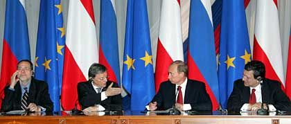 """A European Union-Russia summit in Sochi, Russia in May: """"Trade, purchase and invest."""""""