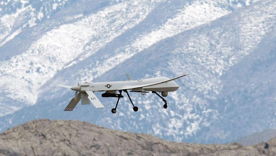 """US-Drohne im Training: """"Vergleichbar mit der Erfindung des Schießpulvers, der Druckerpresse oder des Flugzeugs"""""""