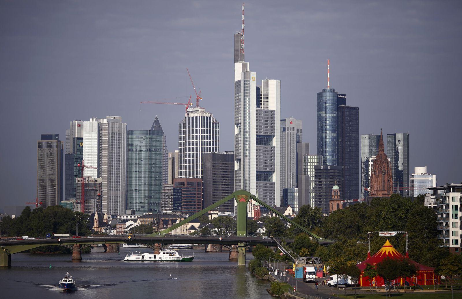 Skyline / Frankfurt / Banken