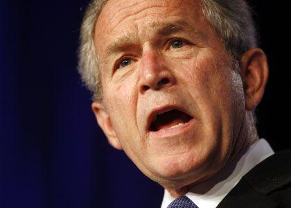 """Präsident Bush: """"Wir helfen dem irakischen Volk, eine Demokratie im Herzen des Nahen Ostens aufzubauen"""""""
