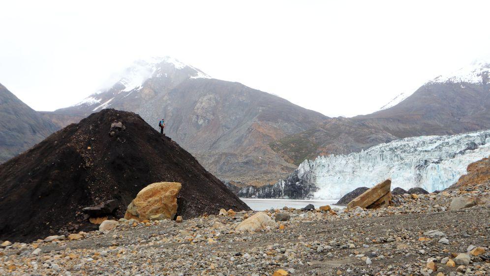 Tyndall-Gletscher: Erdrutsch mit Tsunami
