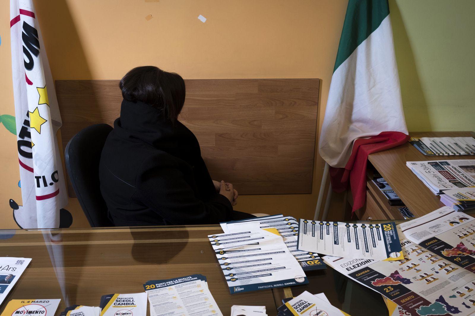 EINMALIGE VERWENDUNG Italien/ Sizilien/ Piera Aiello