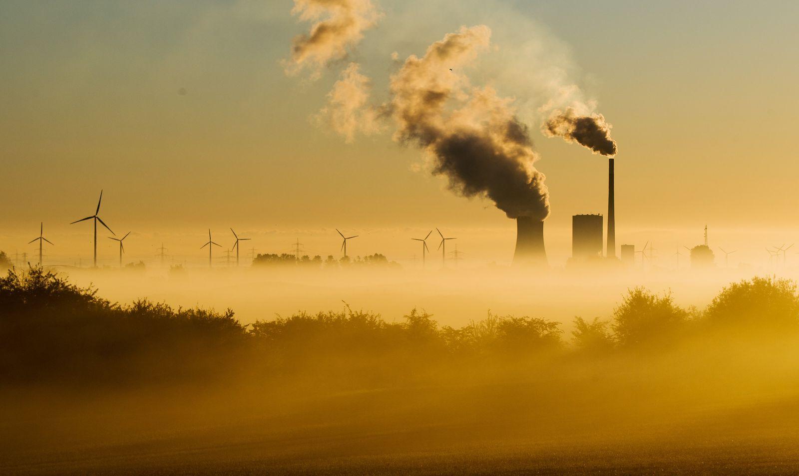 CO2/ Rauch/ Abgase